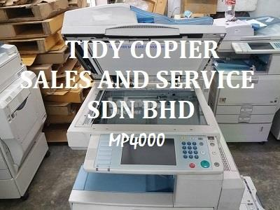 MP4000 PHOTOCOPIER MACHINE