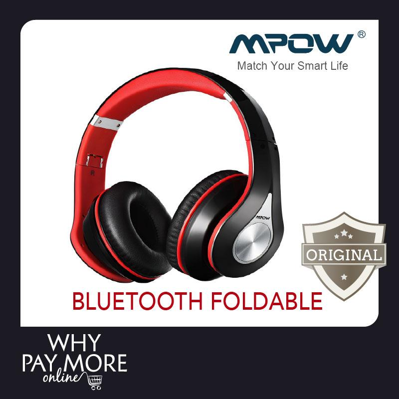 Mpow Bluetooth Foldable Headset Red End 5 26 2019 3 52 Pm