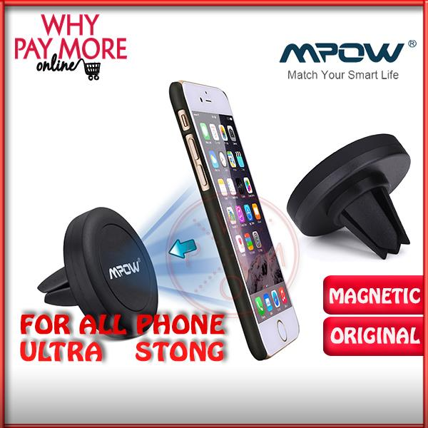 Mpow grip air vent car mount phone holder