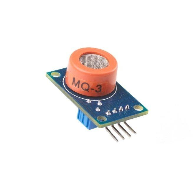 MQ-3 Alcohol Breath Sensor Ethanol Gas Detector for Arduino
