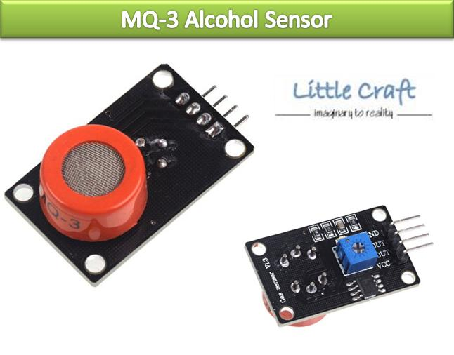 MQ-3 Alcohol Gas Sensor Detector Module For Arduino, Respberry