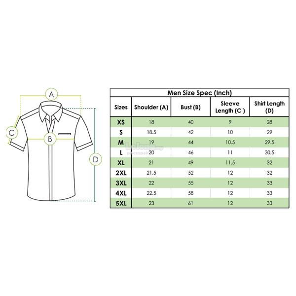 MR2 PolyCotton Corporate Shirt FC-891 (Men)