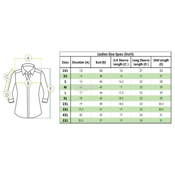MR2 Polysoft Corporate Shirt FP-921 (Ladies)
