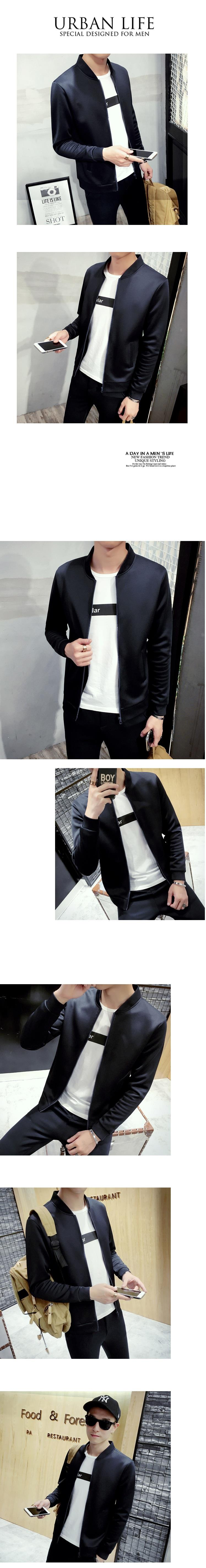 MS0227 Spring and Autumn Korean Men's Jacket