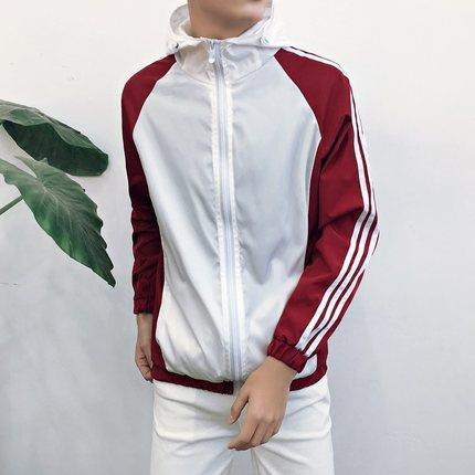 MS0228 Korean Summer Tide Hood Sports Jacket