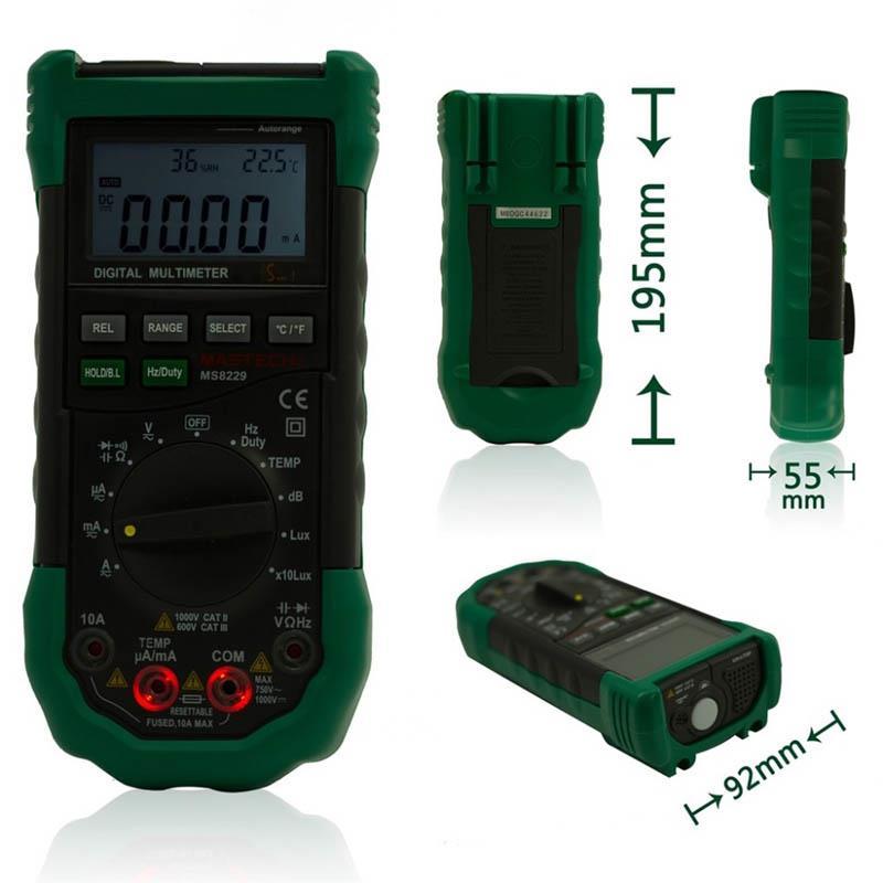 ms8229 digital multimeter temperature end 2 6 2019 1 15 pm rh lelong com my humidity tester equipment humidity tester equipment