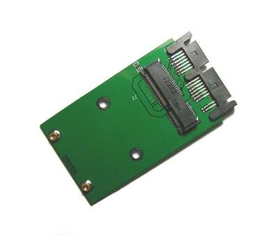 mSATA Mini PCI-e SSD to 1.8 Micro SATA 16 Pin Converter