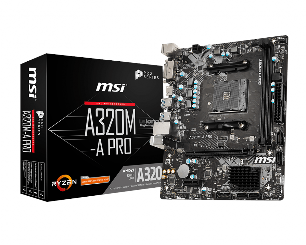 # MSI A320M-A PRO mATX Motherboard # AMD AM4