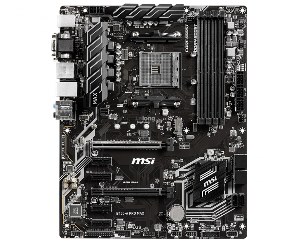 # MSI B450-A PRO MAX ATX Motherboard # AMD AM4