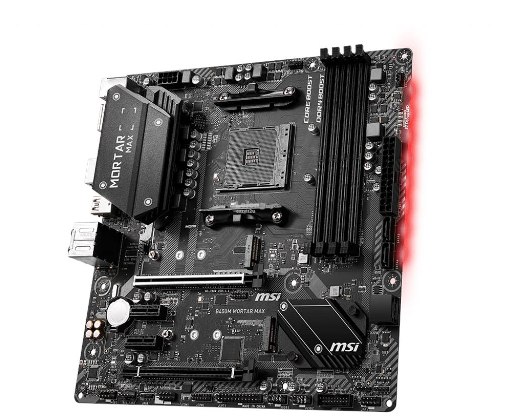 MSI B450M MORTAR MAX SOCKET AM4 MAINBOARD