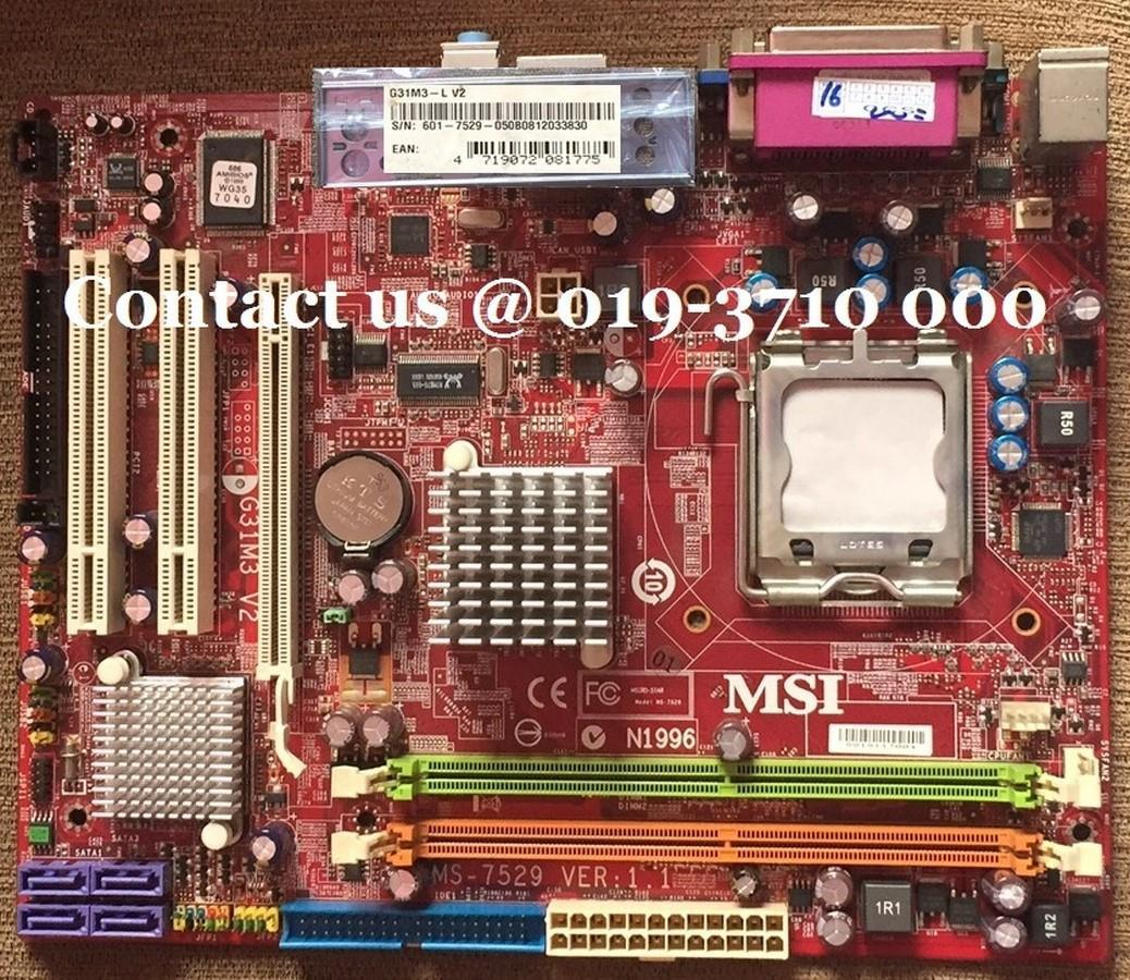 G31M3 MSI MOTHERBOARD DRIVERS FOR MAC