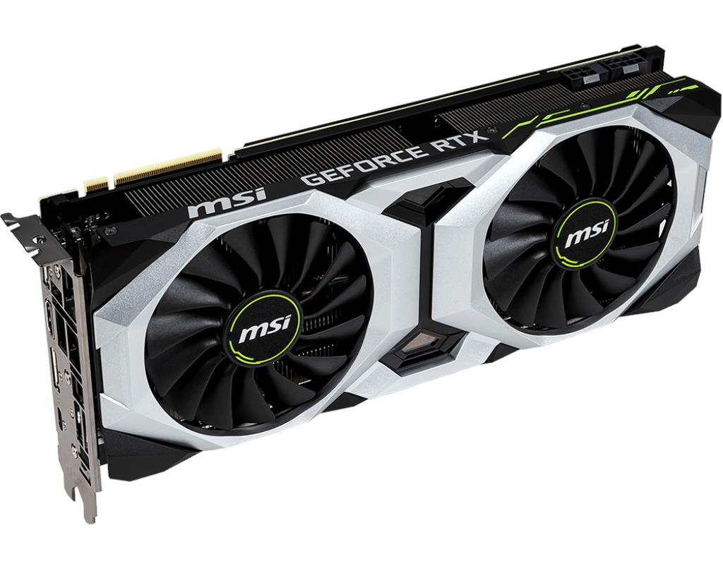 MSI GEFORCE RTX 2080 VENTUS 8G OC GDDR6 Graphics Card