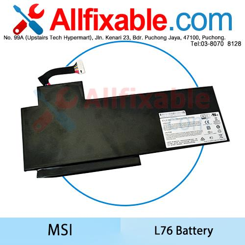 MSI GS62, GS62PE, GS70, GS70 2QC-019XCN, GS70 2QD-487CN Battery