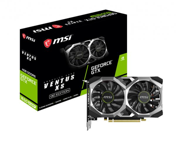 NEW MSI GTX 1650 SUPER VENTUS XS OC GRAPHIC CARD