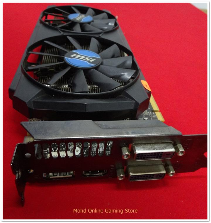 MSI GTX760 2gb ddr5 twin frozr