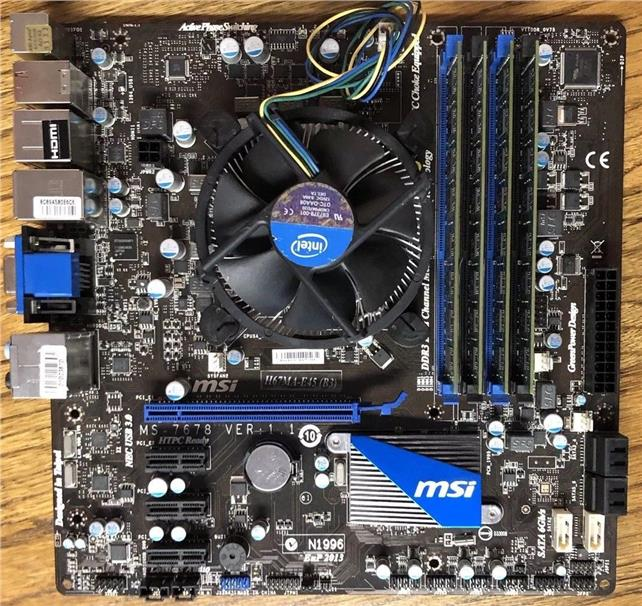 MSI H67MA-E45 (B3) Desktop Motherboard s1155 DDR3 MS-7678 V1.0