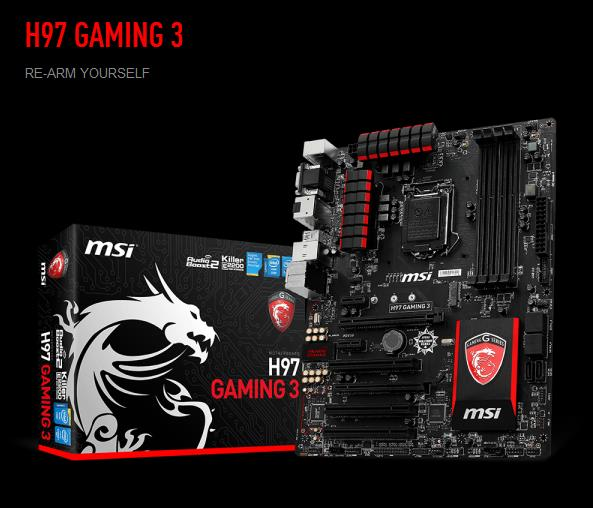 MSI H97 GAMING 3 DRIVERS DOWNLOAD
