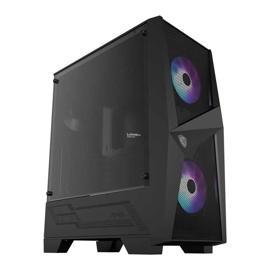 # MSI MAG FORGE 100R Mid Tower T.G Case #