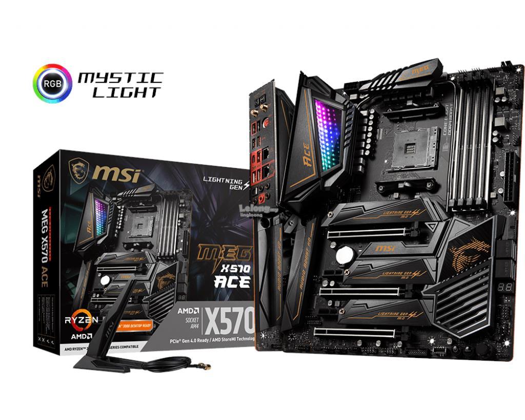 # MSI MEG X570 ACE ATX Gaming Motherboard # AMD AM4