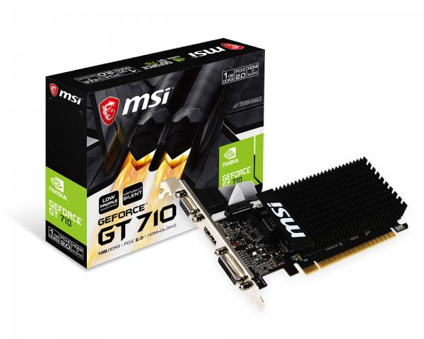 NEW MSI N710 1GD3H LP GRAPHIC CARD