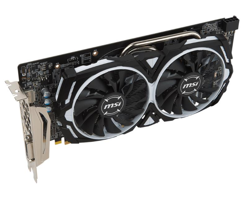 MSI RADEON RX 580 ARMOR 8G OC 8GB GRAPHICS CARD
