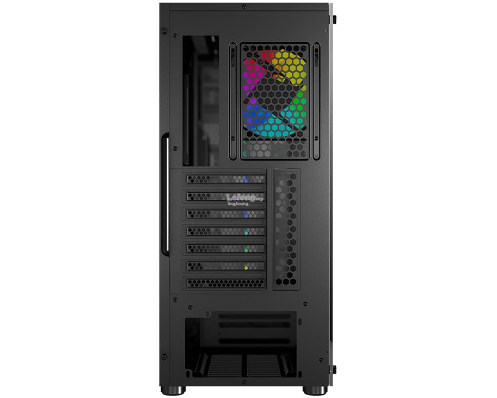 # MSI VAMPIRIC 010 Mid Tower Tempered Glass Case #