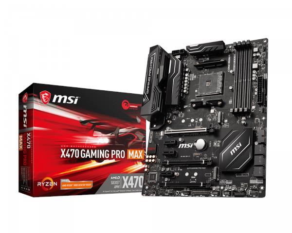 MSI X470 GAMING PRO MAX AMD AM4 DDR4 Turbo M.2 MOTHERBOARD