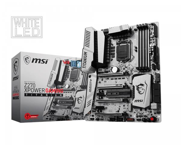 MSI Z270 XPOWER GAMING TITANIUM Intel LGA 1151 Motherboard