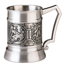 MSP32171 - Pewter Tankard, Dragon/Phoenix - 2