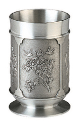 MSP32427 -  Pewter Tumbler, Double Hapiness (M)