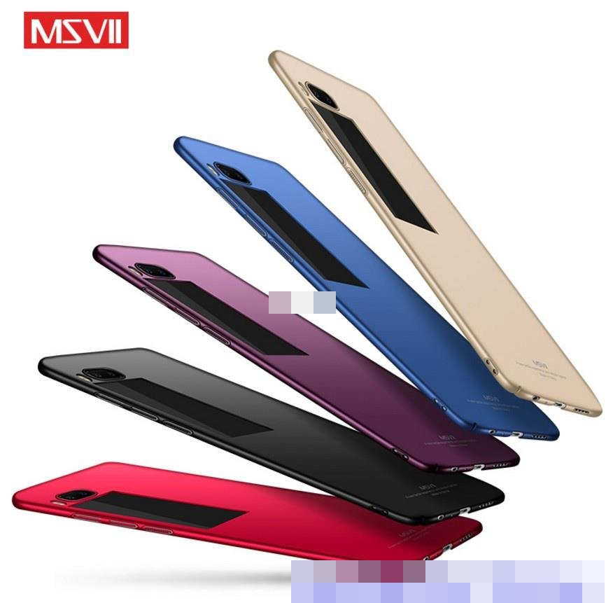 Msvii Meizu Pro 7 Pro7 / Plus Hard Back Case Cover Casing +Free Gift