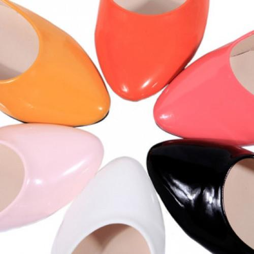 MT007319 Candy Color Cute Little Women Flat Shoes