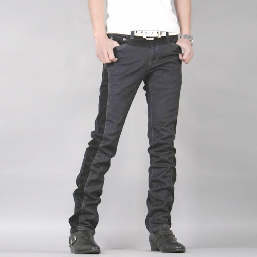 MT059204 Korean Slim Fit Washed Harem Jeans Pants