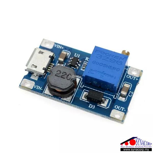 MT3608 2A DC-DC Adjustable Boost Module Step Up