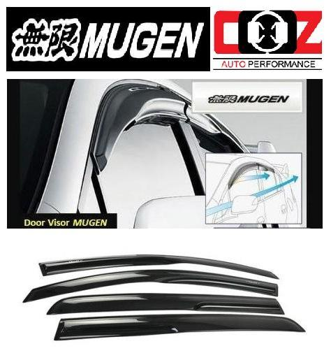 [Mugen Style ] Acrylic Door Visor Mazda 3 H/Back (4pcs/set)