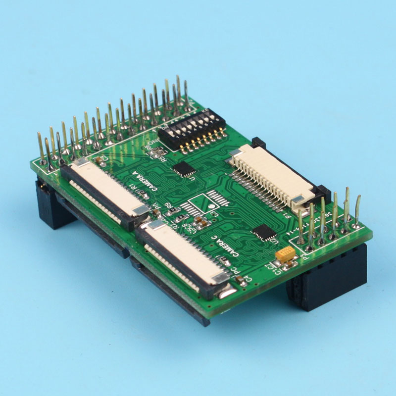 Multi camera Adapter module fully compatible for official Raspberry Pi