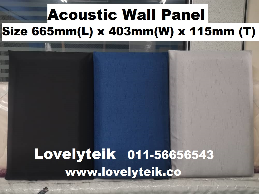 Multi Color Acoustic Wall Panel Echo Reduce Sound Proof Panel