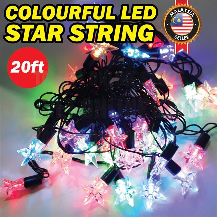 Multi Coloured LED Raya Eid Christmas