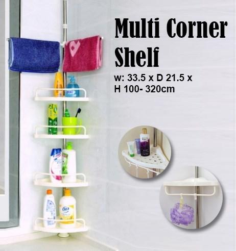 Multi Corner Shelf / Bathroom Corner (end 5/9/2020 9:16 PM)