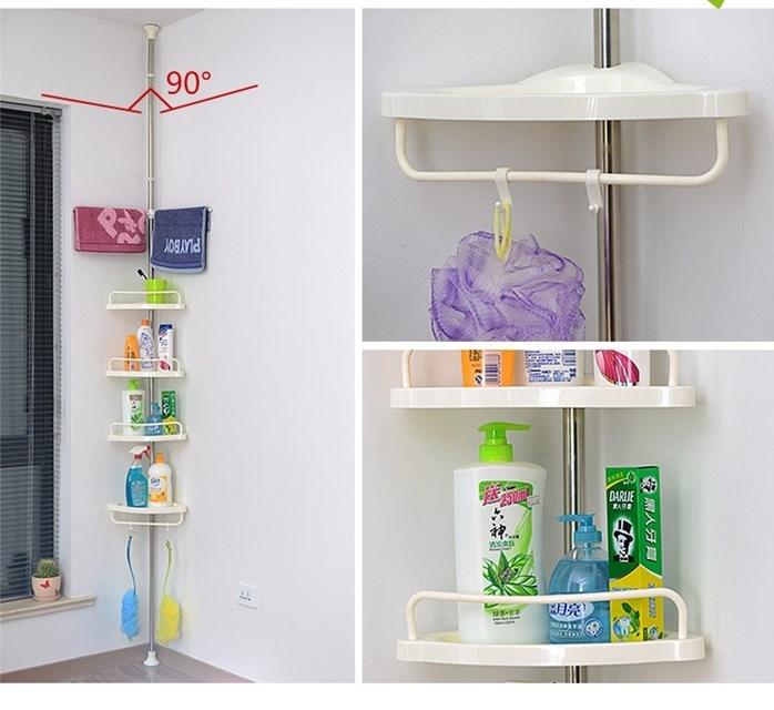 Multi Corner Shelf / Bathroom Corner Rack
