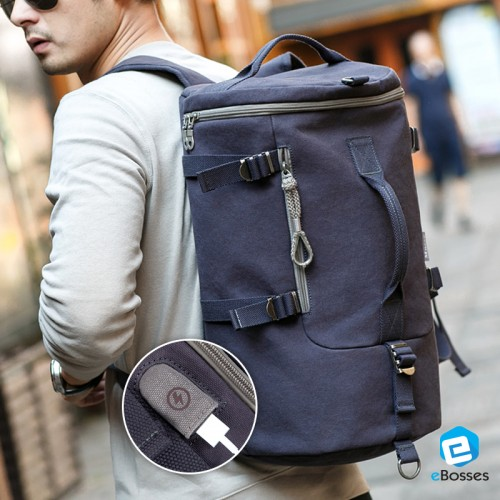 New Multi Way European Travel Backpack Sling Bag Handbag For Men. ‹ › 03c4874f0fc1