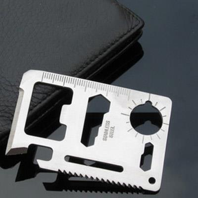 Multi-function Camping Portable Tool Card/Knife Card 12002