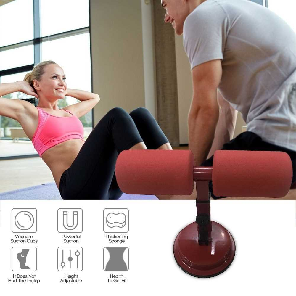 Multi-Function Fitness Sit-Ups Assist Device Osculum Type Vacuum
