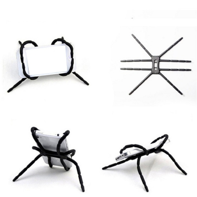 Multi-Function Portable Spider Flexible Grip Holder for Smartphones and Tablet