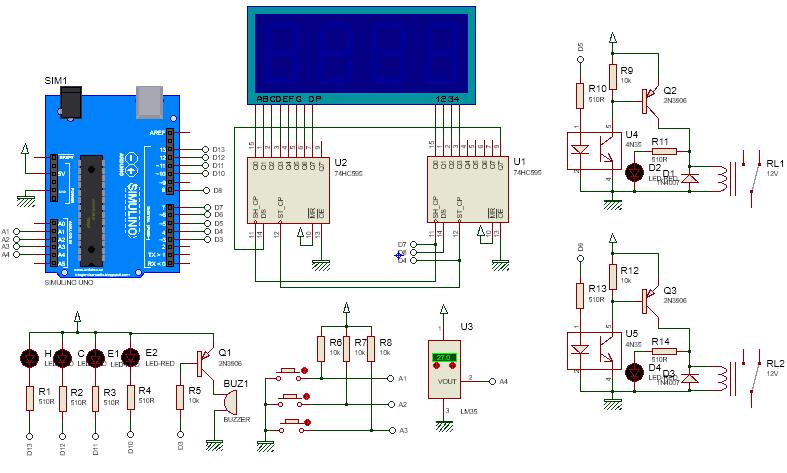 Multi function shield for arduino end pm
