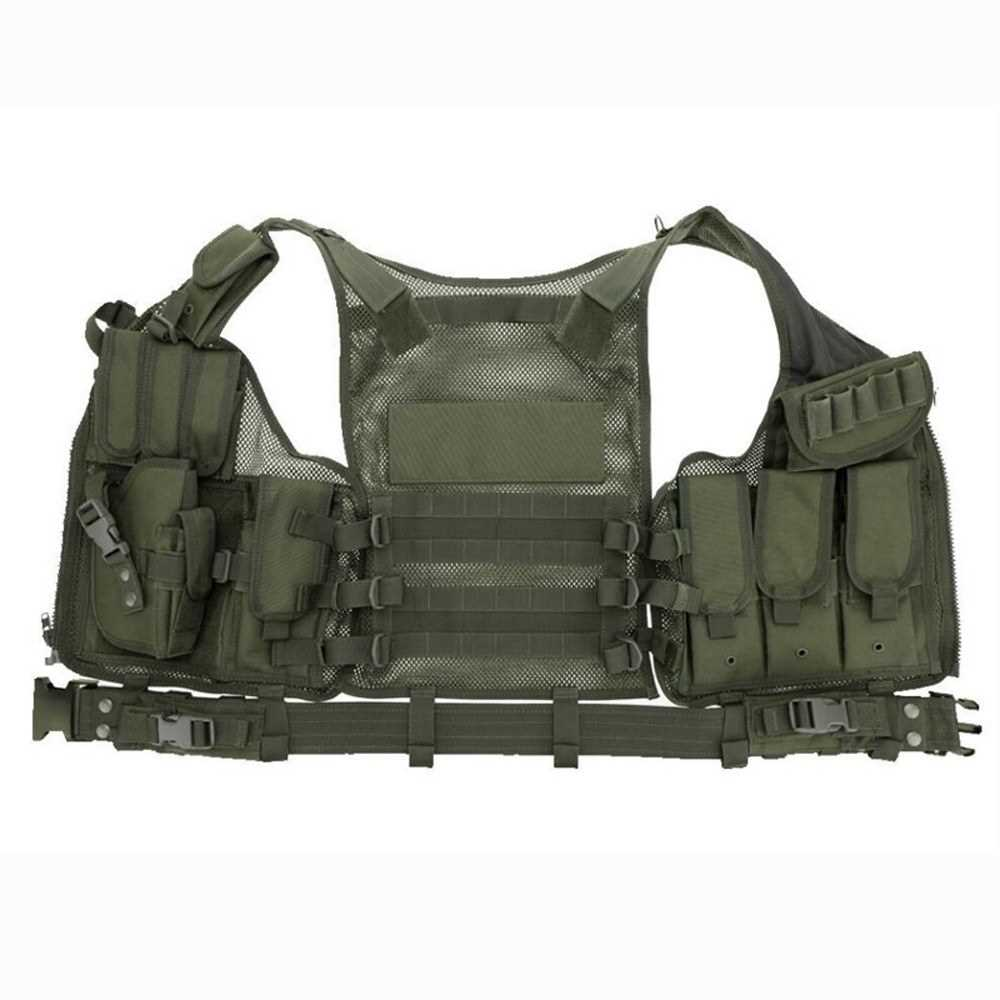 Multi-functional Breathable Vest Outdoor Quick Disassembly CS Field
