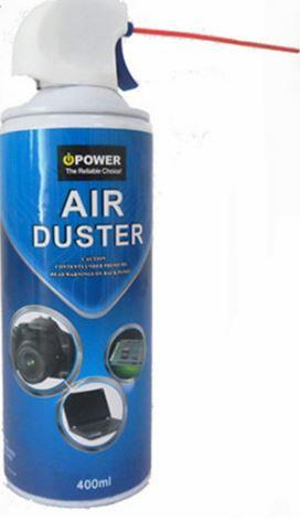 MULTI-PURPOSE CLEANING AIR DUSTER FOR NB CAM DESKTOP KEYBOARD 400 ML