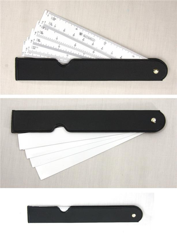 Multi Scale Ruler Fan Scale Ruler
