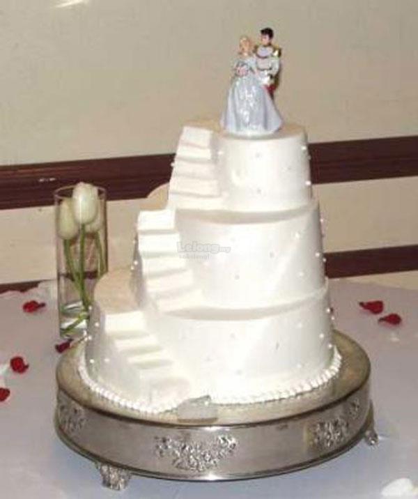 Multi Size 3 Tier Staircase Wedding Cake Tin