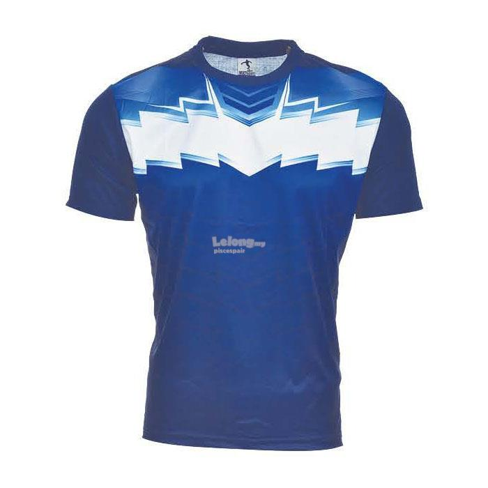 Multi Sport Quick Dry Sublimation Jersey (STP03 Navy/Royal)